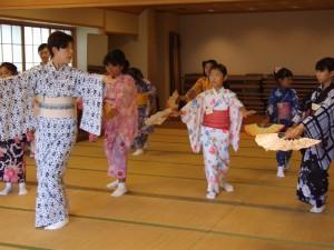 子どものための夏休み日本舞踊ワークショップ6
