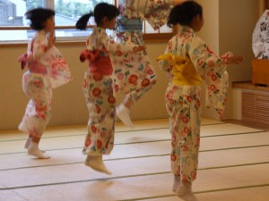 子どものための夏休み日本舞踊ワークショップ2