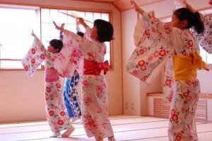 子どものための夏休み日本舞踊ワークショップ3