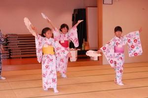 子どものための夏休み日本舞踊ワークショップ4