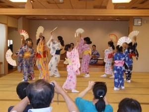 子どものための夏休み日本舞踊ワークショップ5