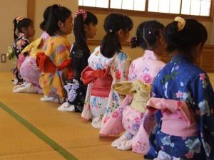子どものための夏休み日本舞踊ワークショップ1