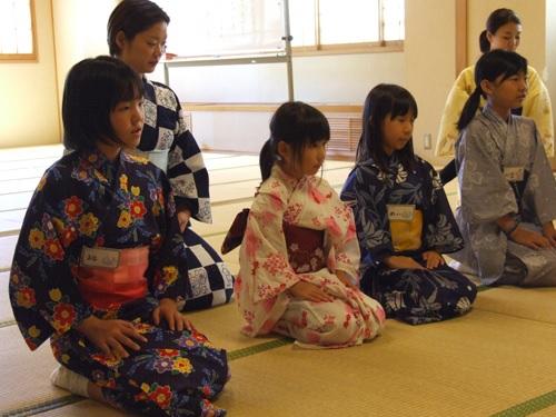 日本舞踊ワークショップ2