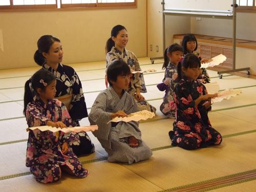 日本舞踊ワークショップ3