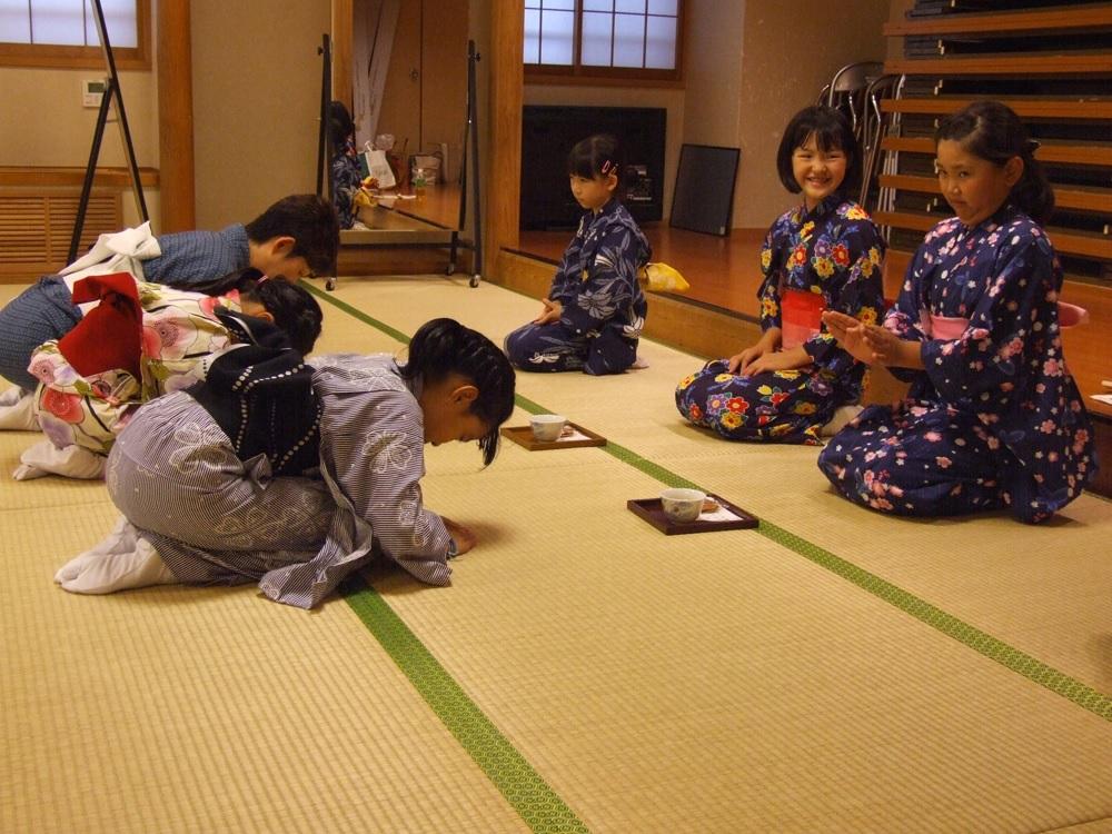 日本舞踊ワークショップ6