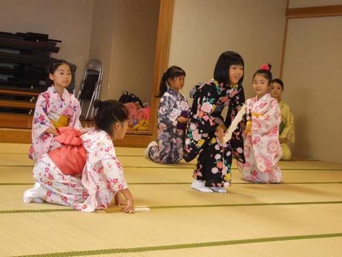 日本舞踊ワークショップ7