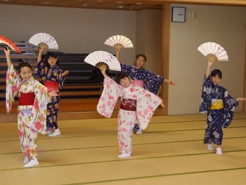 日本舞踊ワークショップ8